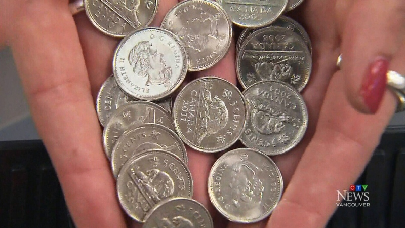 Canadians not ready to ditch the nickel: study