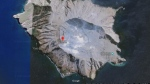 New Zealand authorities say a volcano on White Island has erupted. The agency GeoNet on Monday afternoon said a moderate volcanic eruption had occurred and raised its alert level to four, on a scale where five represents a major volcanic eruption. (Google)