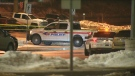 Police are investigating after shots were fired at a vehicle in a commuter parking lot in Richmond Hill.