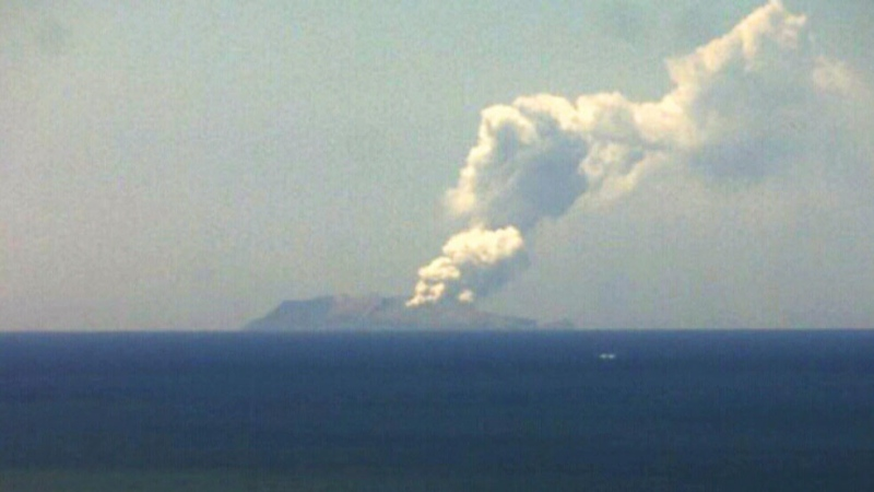 CTV National News: Volcano eruption