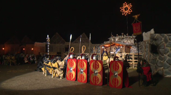 Hundreds of people attended a Christmas pageant in Elmira this weekend.