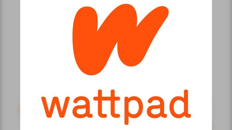 The Wattpad logo is seen in this undated handout photo. (THE CANADIAN PRESS/HO, Wattpad)