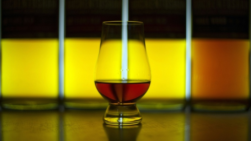 Gooding's collection includes some of the most famous Scottish malts. (AFP)