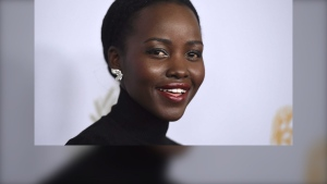 Lupita Nyong'o arrives at the BAFTA Los Angeles Britannia Awards at the Beverly Hilton Hotel on Friday, Oct. 25, 2019, in Beverly Hills, Calif. (Photo by Jordan Strauss/Invision/AP)