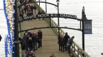 The City of White Rock honoured donors who contributed to the pier's repairs.