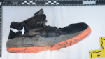A shoe is shown in a photo provided by the BC Coroners Service.