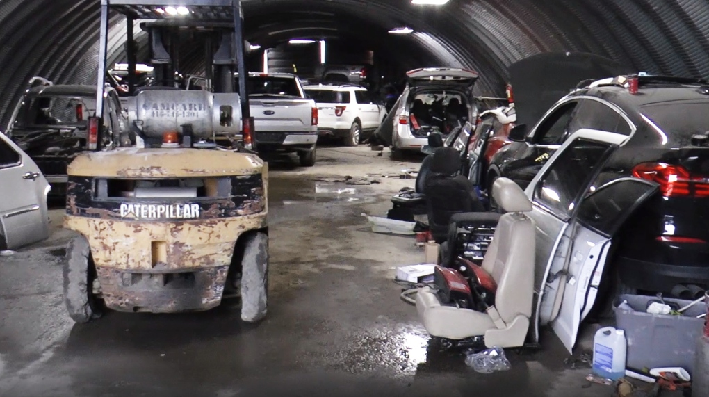 Police bust alleged $1.6M car theft ring that exported high-end vehicles out of Canada