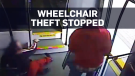 Wheelchair theft