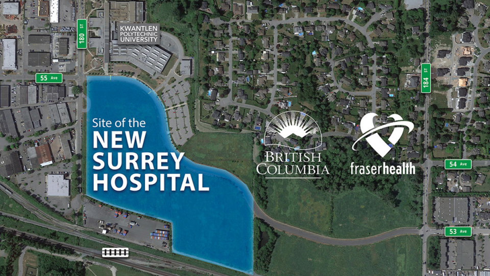 New Surrey hospital