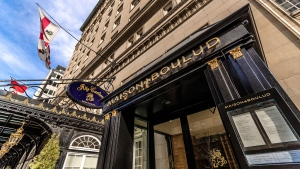 Maison Boulud at the Ritz-Carlton in Montreal made Open Table's list of the Top 100 Restaurants in Canada for 2019.