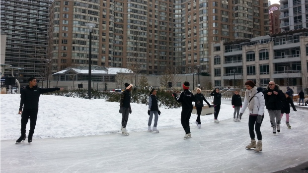 Here's a list of places you can skate in Toronto