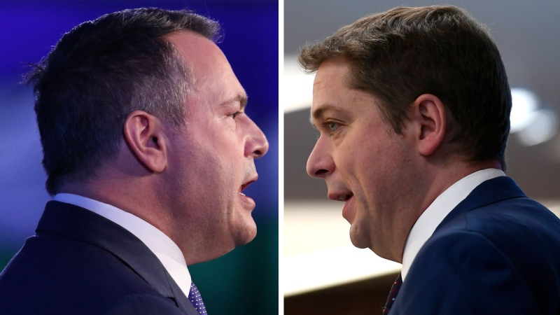 Is Kenney upstaging Scheer with Ottawa visit?