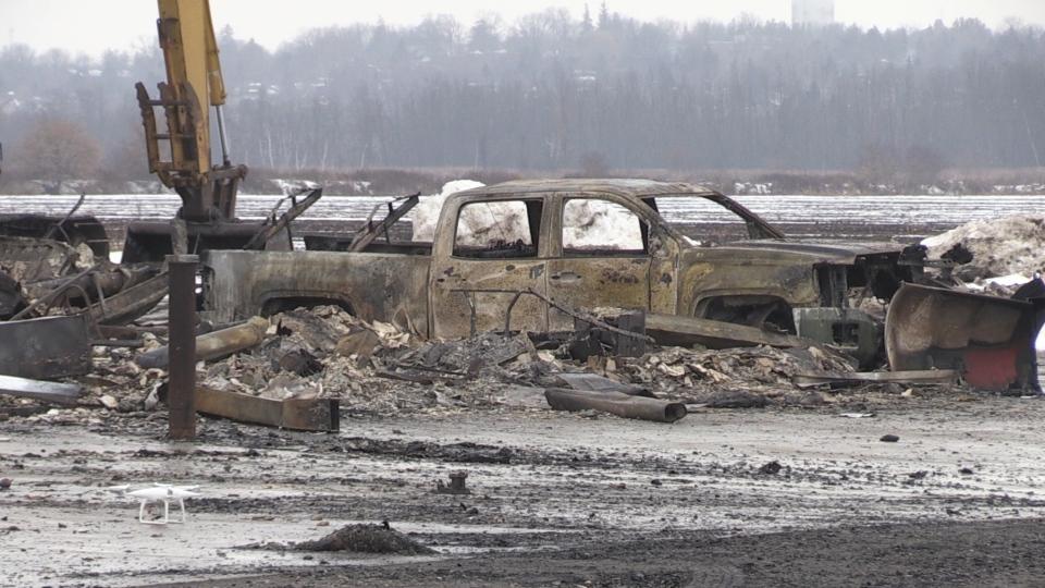 ATV Farms Fire