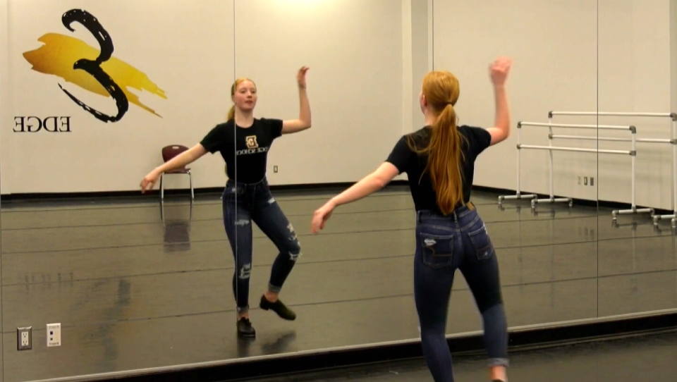 Taylor Ketter, 14-year-old Calgary tap dancer