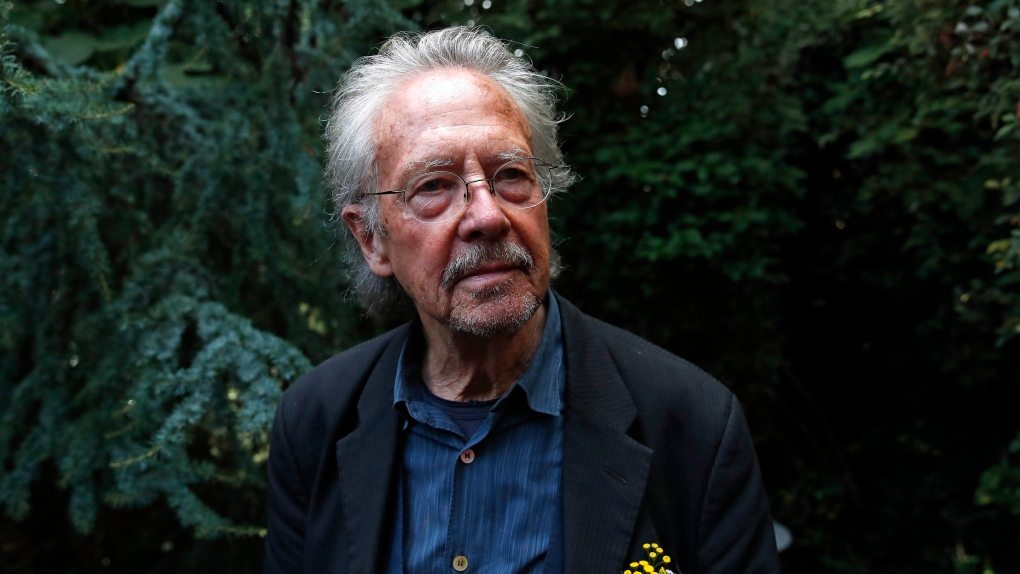 Handke takes Nobel Literature Prize amid protest over Serb war crimes