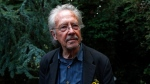 Austrian author Peter Handke poses for a photo at his house in Chaville near Paris, Thursday, Oct. 10, 2019. THE CANADIAN PRESS/AP/Francois Mori
