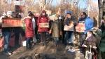 Tent city tenants face eviction
