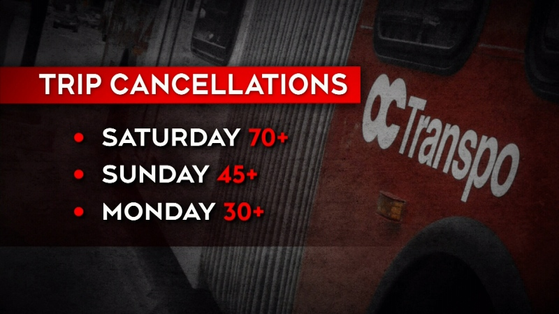 OC Transpo apologizes for spike in cancelled routes
