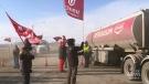 Day five of Co-op Refinery strike