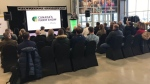A press conference announcing the rebranding of Canada's Farm Progress Show to Canada's Farm Show. (Source: Canada's Farm Show)