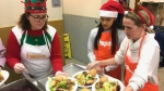 Hope Mission served more than 500 meals to hungry clients on Dec. 9, 2019.