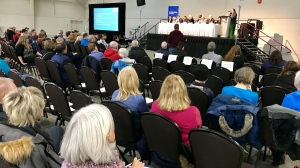 "Roughly 200 people attended a townhall hosted by the ""Fair Deal Panel"" in Red Deer on Dec. 9, 2019."
