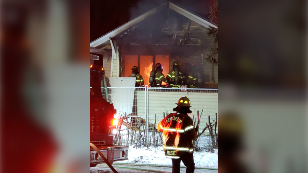 Two fires at abandoned properties near Commonwealth Stadium