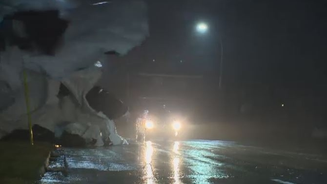 Thousands of Maritimers in the dark as strong winds sweep across the region