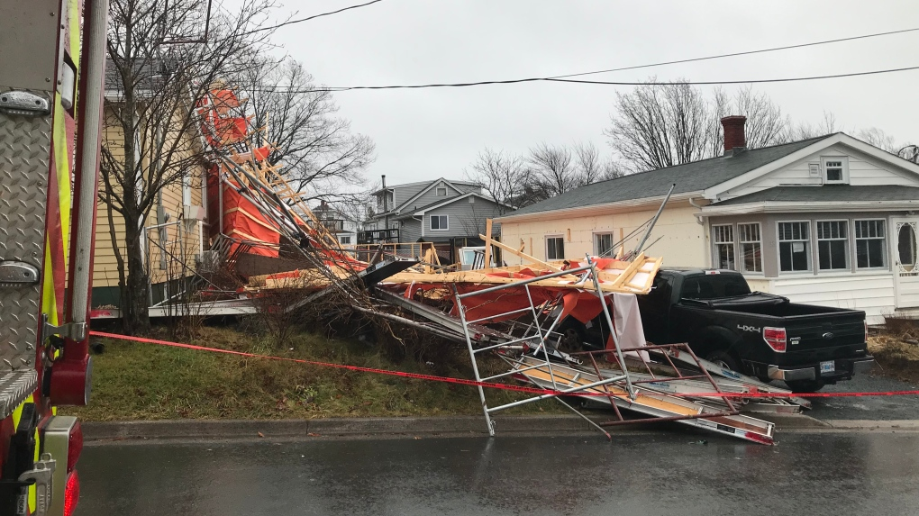 Strong winds cause damage, power outages across the Maritimes