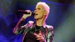 In this photo made available Tuesday, Nov. 1, 2011 singer Marie Fredriksson of the Swedish pop duo Roxette performs on stage during a concert in Zurich, Switzerland, Monday, Oct. 31, 2011. (AP Photo/Keystone, Walter Bieri)