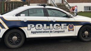 A file photo of a Longueuil police cruiser.