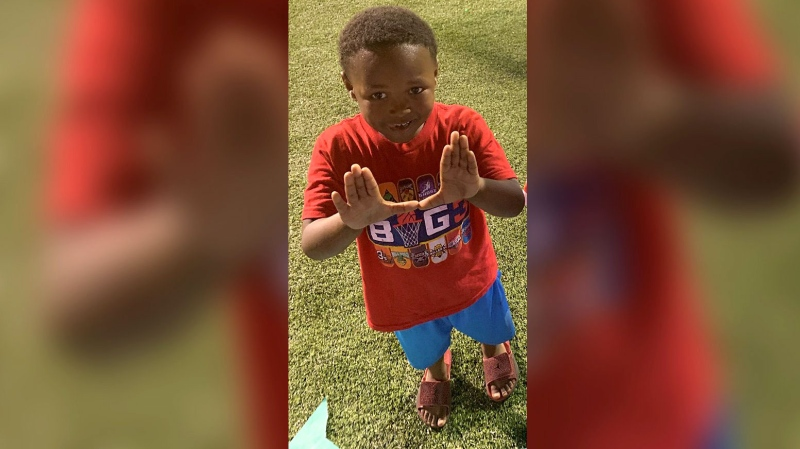 5-year-old Tanarius Moore shot and killed when he was caught in the crossfire during an altercation. (Tabios Darden)