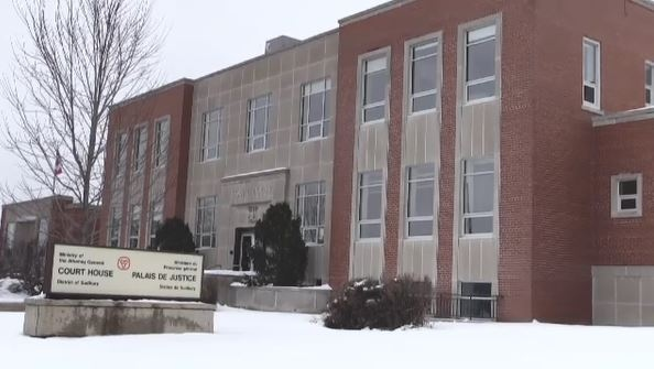 Sudbury courthouse winter