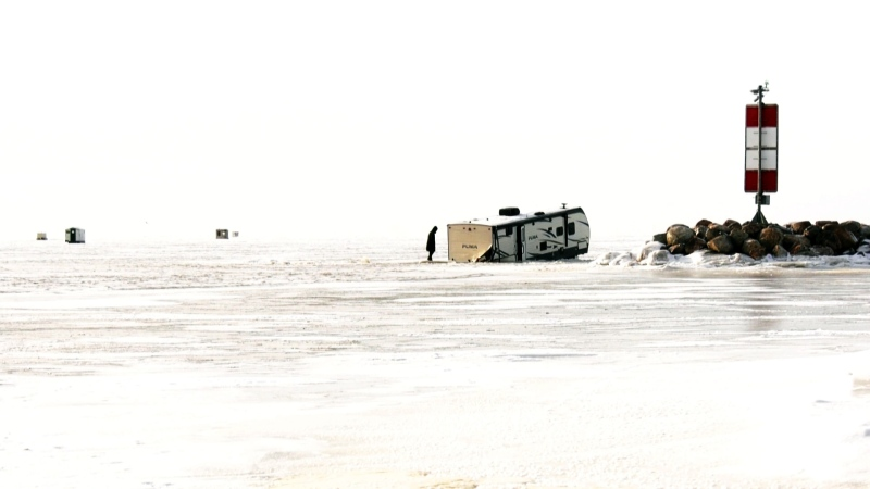 Drivers warned to stay off the ice