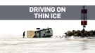Five vehicles fall through ice on Lake Winnipeg in