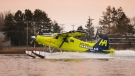 Harbour Air's all-electric plane is preparing for its first test flight. (Harbour Air/Twitter)