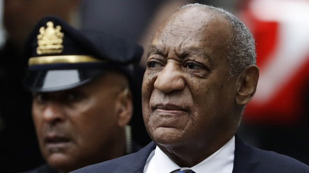 Bill Cosby arrives at the Montgomery County Courthouse in Norristown, Pa., on Sept. 24, 2018. (Matt Slocum / AP)