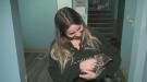 Pet Save volunteer, Chanelle Lafortune December 10, 2019. (Ian Campbell/CTV Northern Ontario)