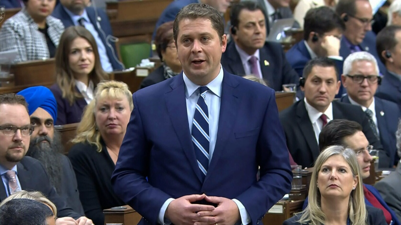 Andrew Scheer question period