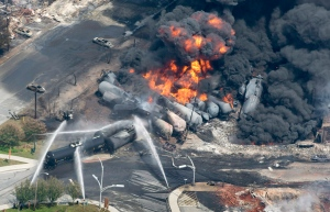 The City of Lac-Megantic announced that it will unveil a memorial to the victims of the rail disaster in 2013 Monday July 6, 2020. THE CANADIAN PRESS/Paul Chiasson