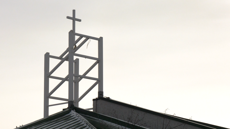All Saints Anglican Church in Cochrane has been without a bell since 2007.