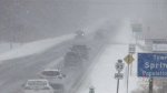 Snow squalls hammer the region