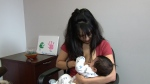 Breastfeeding mother speaks out