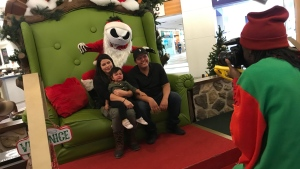 Spooky Santa at Carlingwood