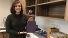 Regina teen creates hundreds care packages for women living in shelters this holiday season. (Taylor Rattray / CTV News Regina)