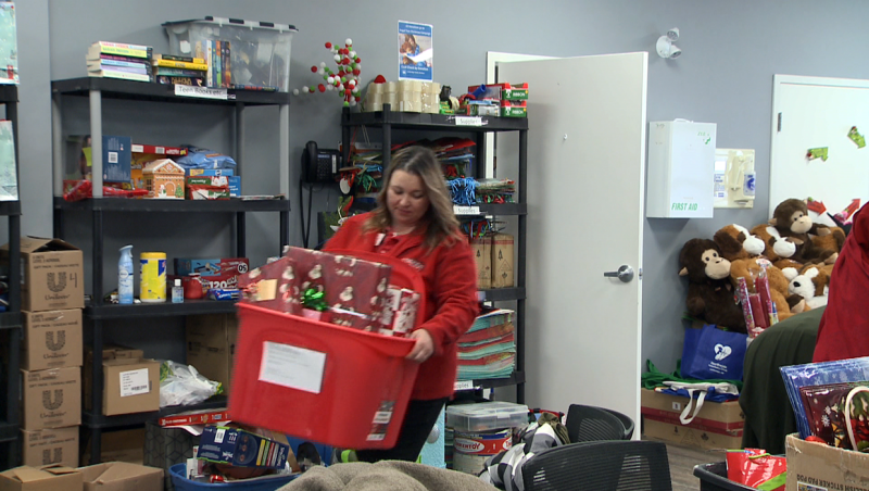 Lethbridge Family Services has 2,500 toys. Now all they need are 2,500 children to give them to.