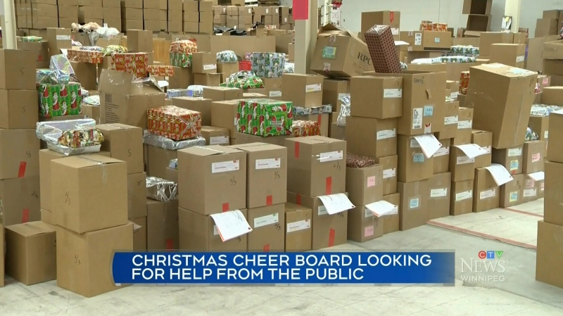 Volunteers at the Christmas Cheer Board are packing and delivering hampers but the charity is asking for help from the public.