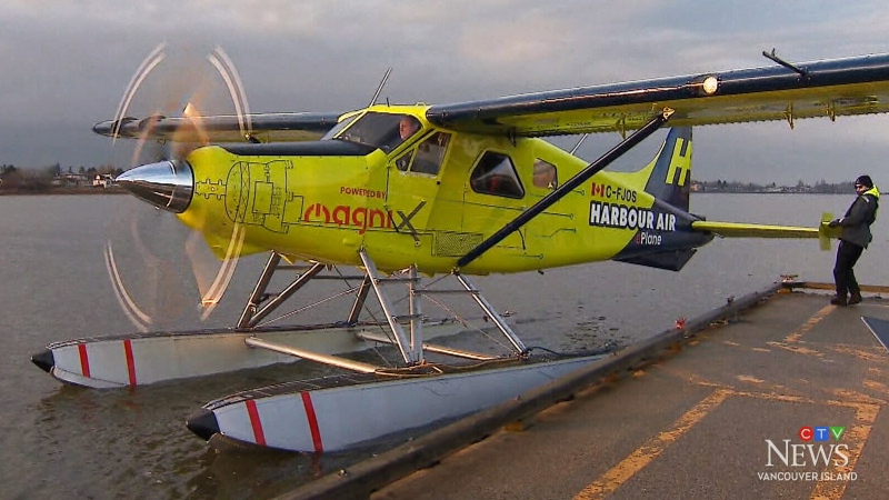 World's first e-plane test flight lands in B.C.