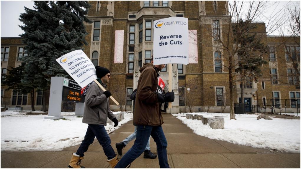 Strike closes all Ontario English Catholic schools and Toronto public high schools
