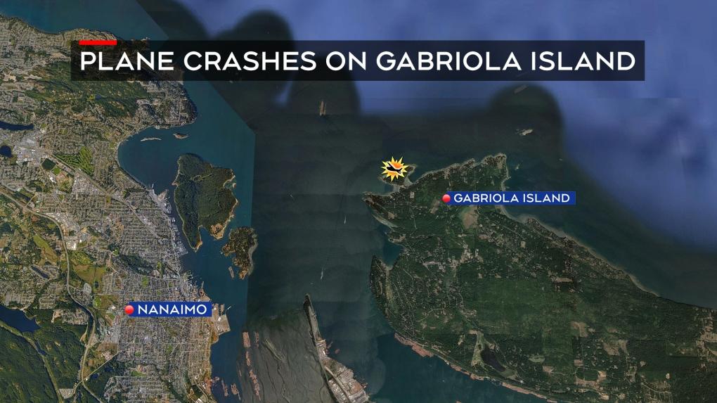 Multiple fatalities confirmed after plane crash on Gabriola Island